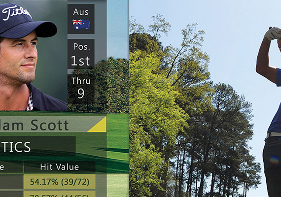 The overall design of the Masters app was very pleasing to the eye due to the great photography of the Augusta courses that the Masters Tournament took place on this past year. There were many sections including: a home viewer screen, leaderboard, 5-channel multi-view, individual player bios, tournament photo gallery, and both on-demand and course fly-over video sections.                                 <br/><br/>                                 Project Details                                 <ul>                                     <li><strong>Name</strong>: 2014 Masters Golf Tournament</li>                                     <li><strong>Position</strong>: Application Developer @ AT&amp;T via Tekmark</li>                                     <li><strong>Type</strong>: U-verse Tv Application Design</li>                                     <li><strong>Role</strong>: UX/UI Designer / Design Lead</li>                                     <li><strong>Year</strong>: 2014</li>                                   </ul>